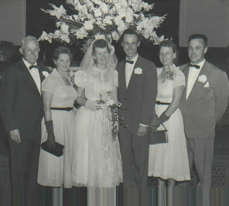 BOB & SHIRLEY WEDDING